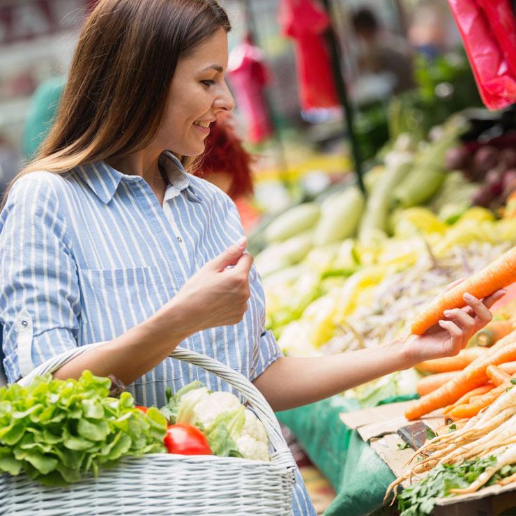 achat des légumes